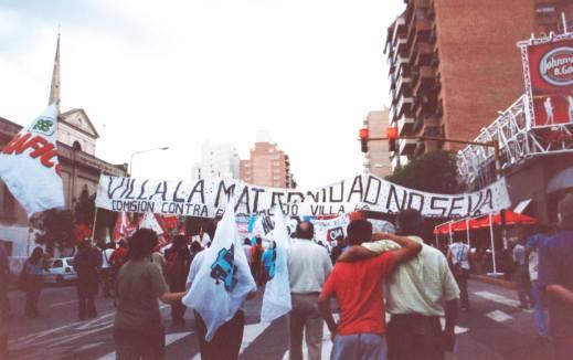 Movilización Villa La Maternidad